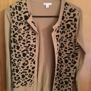 Size Small Leopard Print Sweater
